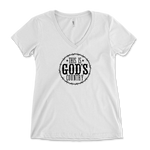 This Is God's Country Womens V-Neck