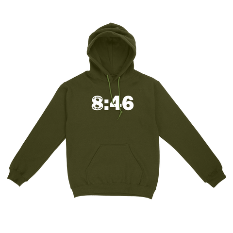 8:46 No Justice No Peace Black Lives Matter Unisex Pullover Hoodie
