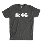 8:46 No Justice No Peace Black Lives Matter Ringspun T-Shirt