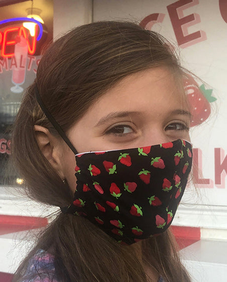 Kids Face Masks by Lillian Banderas