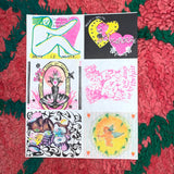 VALENTINE'S DAY CARDS (MADE BY 6 DIFFERENT ARTISTS) 2021 by Mundus Press