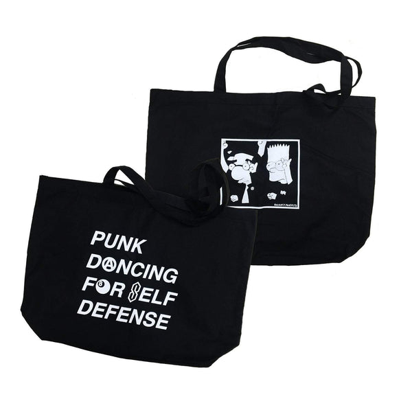 Vacancy Projects Punk Dancing Tote Bags