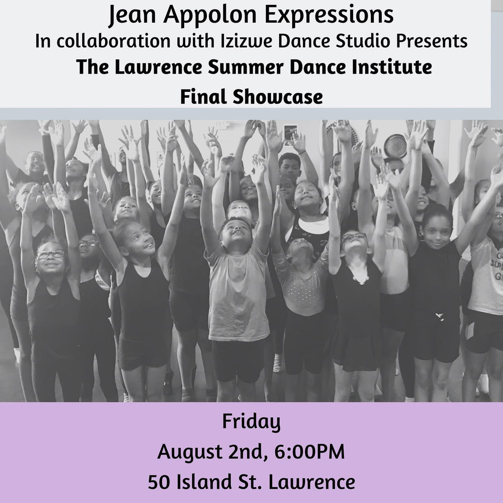 Summer Dance Institute- Partnership with Jean Appolon Expressions