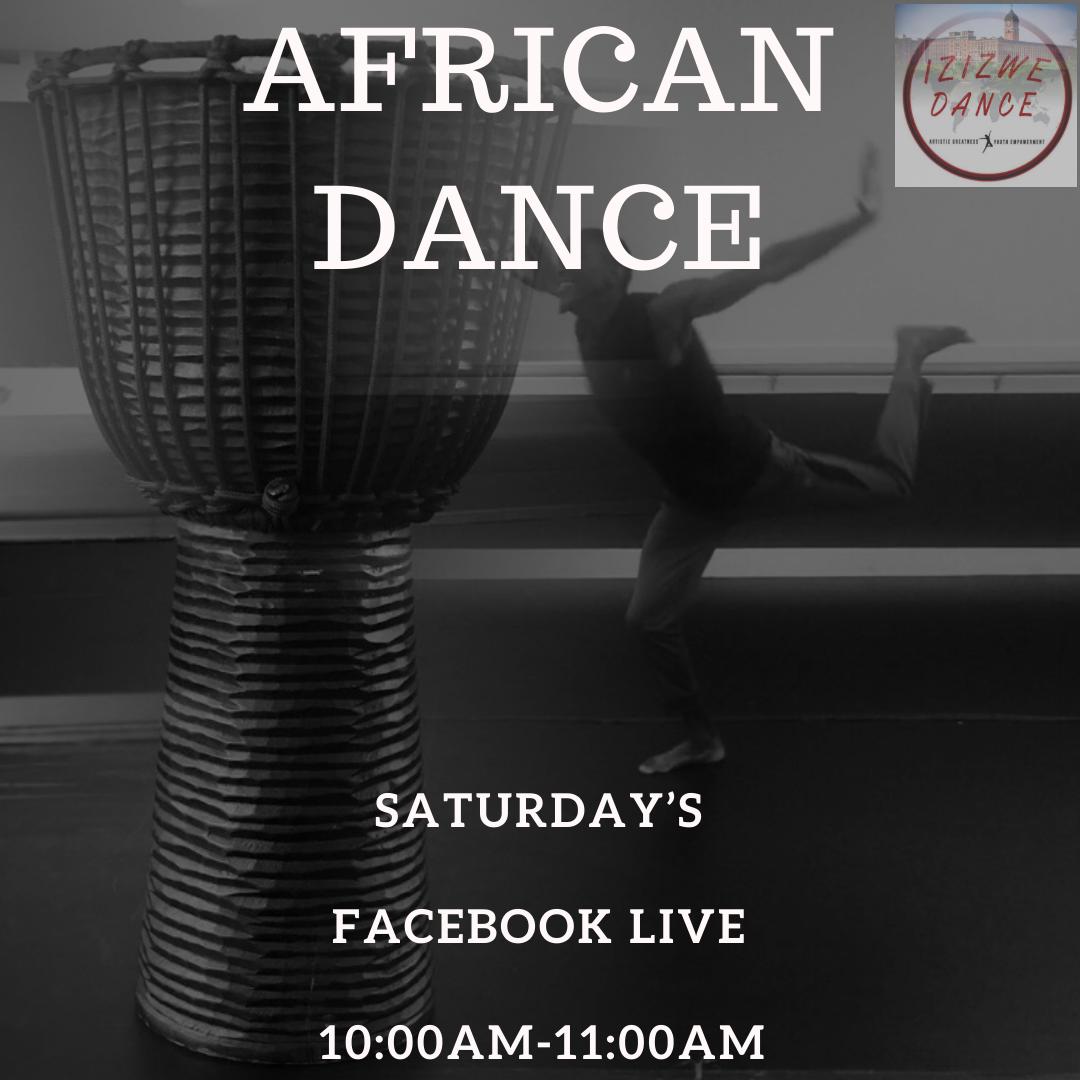 African Dance Workout is Now Virtual!