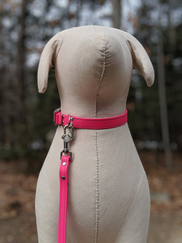 bright pink leash - $25