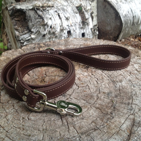 brown leash - $25