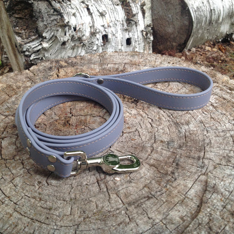 gray leash - $25
