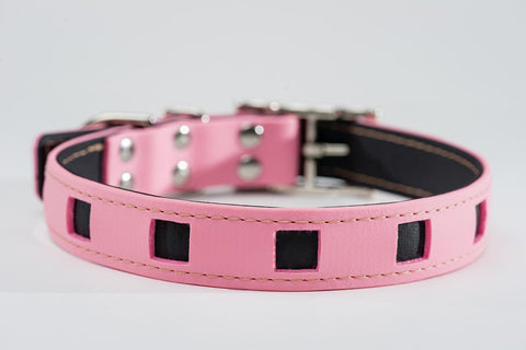 pink on black - square