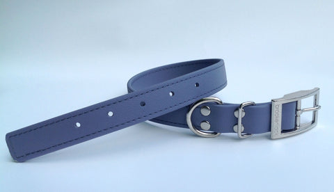gray solid collar