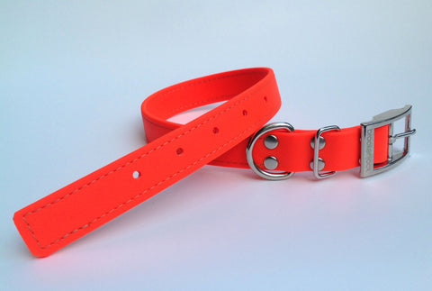 orange solid collar