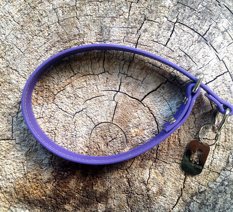 purple slip collar - $20