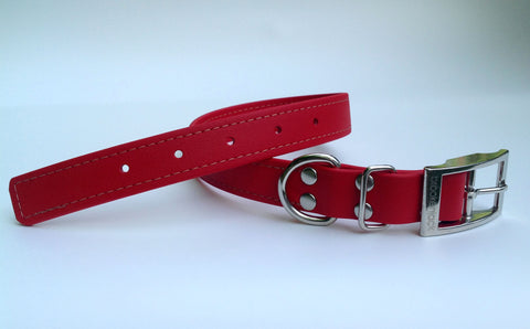red solid collar