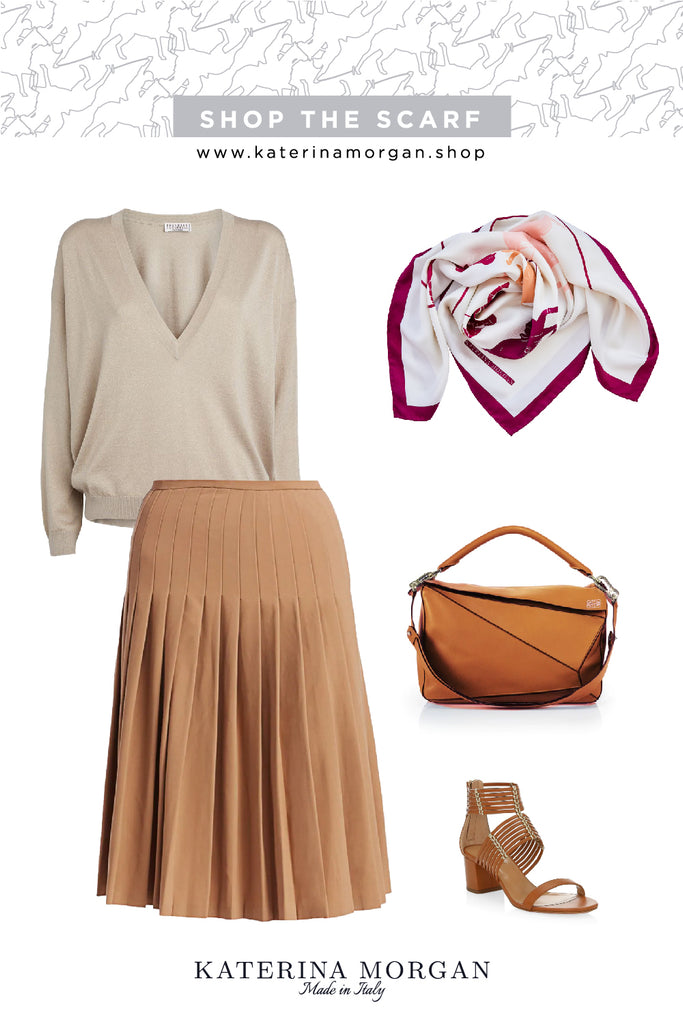 Autumn colors trendy outfit