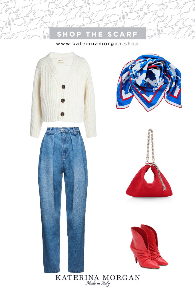 Spring with bold accessories