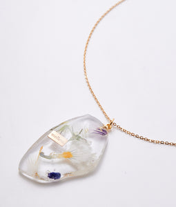 〈mellow〉FLOWER NECKLACE /フラワーネックレス(WHITE)