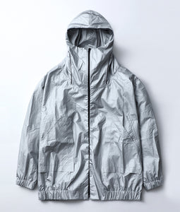 〈BALMUNG〉BORO HIGH NECK BIG PARKER / ボロハイネックビッグパーカー (SILVER)