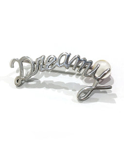 〈FAIS DESIGNS〉MESSAGE EARCLIP  D/メッセージイヤークリップ(SILVER)