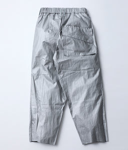 〈BALMUNG〉BORO TAPERED PANTS / ボロテーパードパンツ (SILVER)