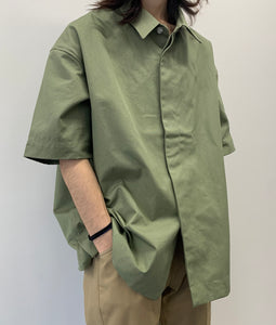 〈SHINYAKOZUKA〉LADDER STITCH SHIRTS / ラダーステッチシャツ(GRASS)