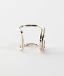 〈FAIS DESIGNS〉SIDE RING ◯ /ハートリング(SILVER)