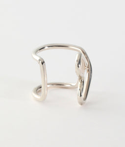 〈FAIS DESIGNS〉SIDE RING ♡ /ハートリング(SILVER)