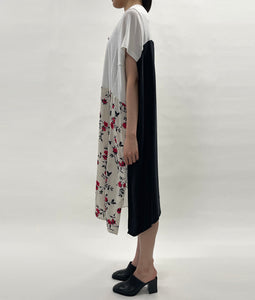 "〈QUI×YEAH RIGHT!!〉 ""je m'en fous"" DRESS / ""je m'en fous""ドレス with Michelle(WHITE)"