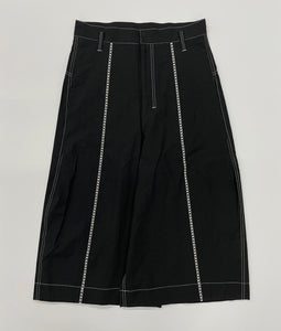 〈SHINYAKOZUKA〉LADDER STITCH SHORTS / ラダーステッチショーツ(BLACK)