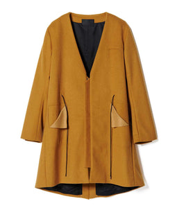 〈KONYA〉DISTORTION M51 COAT / ねじれM51コート (YELLOW)