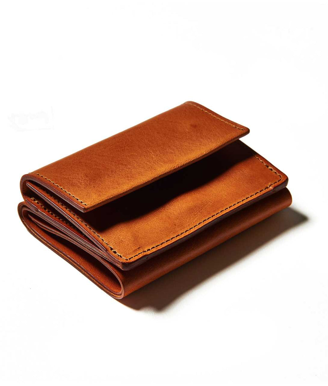〈LIM DESIGN〉MINI WALLET / ミニウォレット(BROWN)