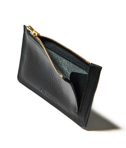 〈LIM DESIGN〉CARD COIN CASE / カードコインケース(BLACK)