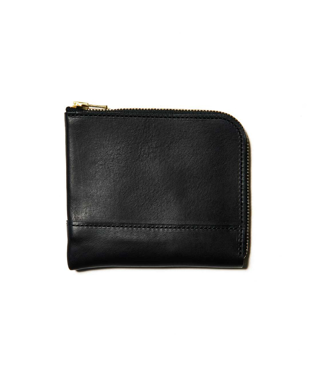 〈LIM DESIGN〉L Zip Small Wallet / Lジップスモールウォレット (BLACK)