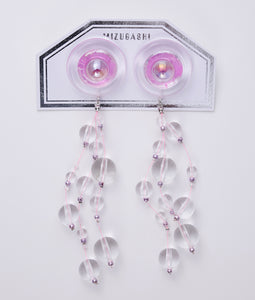 〈MIZUGASHI〉EARRINGS /イヤリング(PINK)