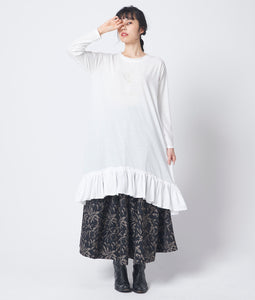 〈old honey〉43℃DRESS / 43℃ドレス(WHITE)