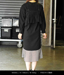 〈old honey〉64℃ DRESS / 64℃ドレス(BLACK)