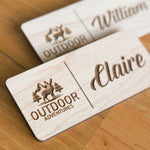 Logo Name Badge | Custom Business Badge