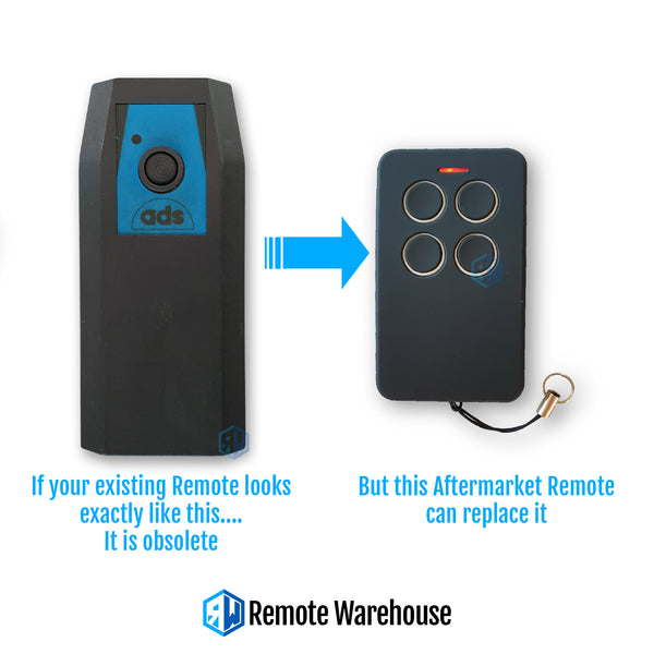 ADS 503 Compatible Remote (Aftermarket)