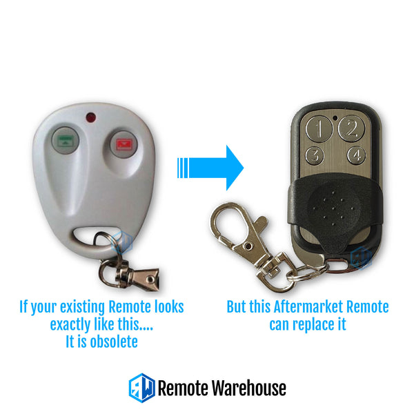 Conqueror Compatible Garage Remote (Aftermarket)