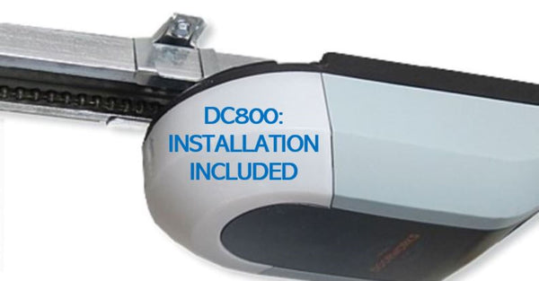Doorworks DC800 Tilta/Sectional Door Opener Motor - Full Installation