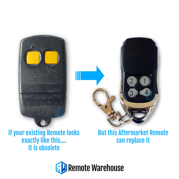 Dominator YBS2 Compatible Remote (Aftermarket)