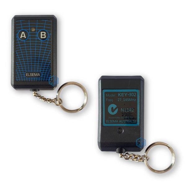 Elsema KEY-302 27MHz Gate Remote