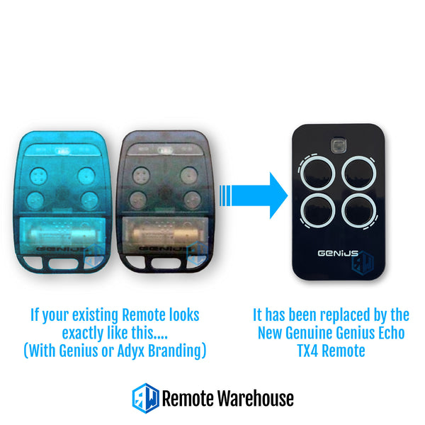 Genius Bravo Gate Remote