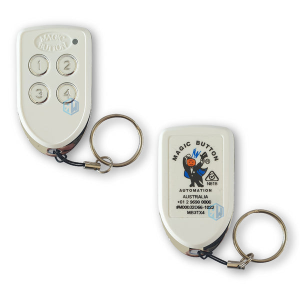 Magic Button MB3TX4 Any Application Remote