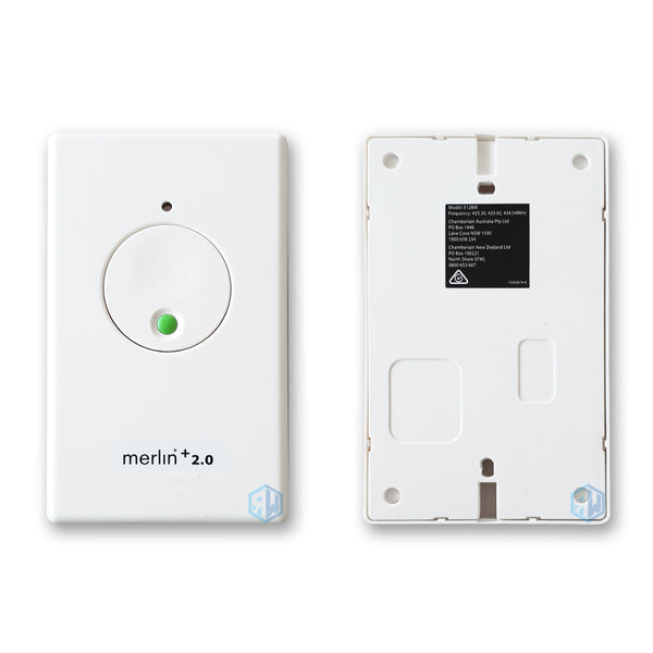 Merlin + 2.0 E128M Wireless Wall Button