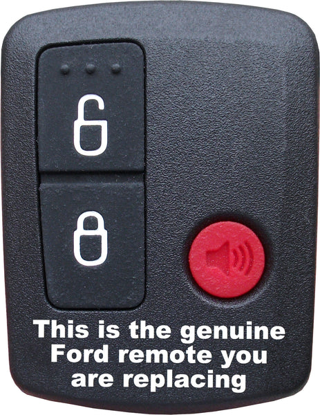 Ford Remote Compatible 3 Button 2001 2013 The Remote