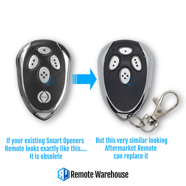 Smart Openers 4B Compatible Remote (Aftermarket)