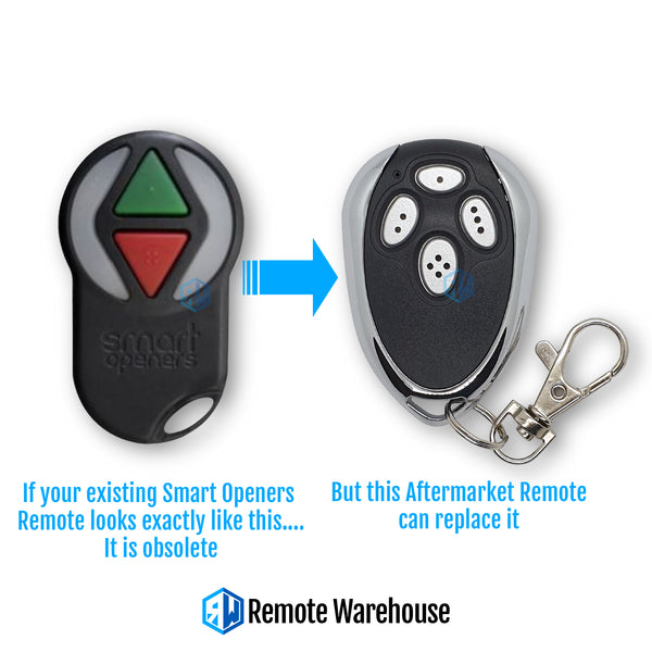 Smart Openers 4S Compatible Remote (Aftermarket)