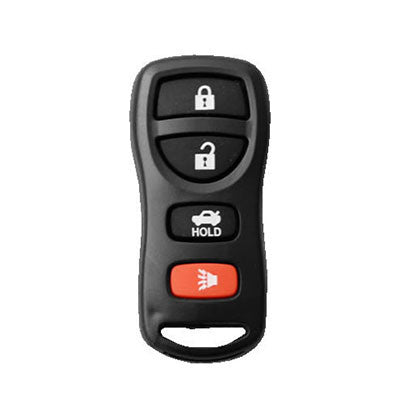car remote shell replacements Nissan 4 Button