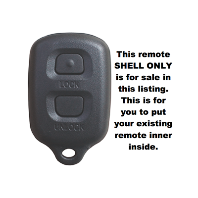 car remote shell replacements Toyota Rav4