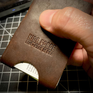 The Gripper | Minimalist Card Wallet