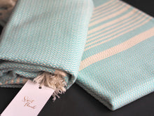Load image into Gallery viewer, Authentic Turkish Towel - Herringbone Weave